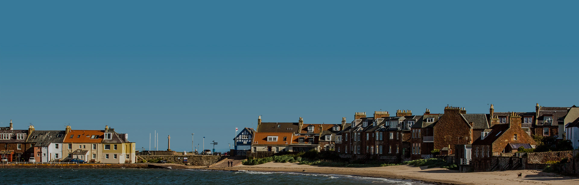 The beach at North Berwick